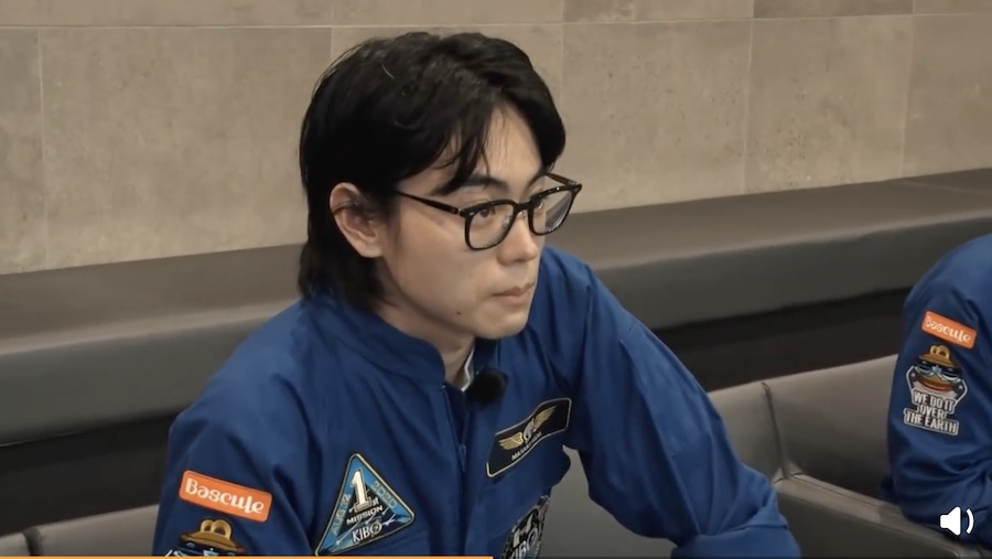 【Kibo】中村倫也和菅田将暉来到JAXA访问,Report#6